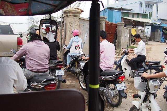 motorcycles! Phnom Penh, Cambodia