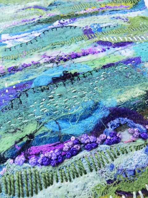 Dreaming: Lavender Fields (detail)
