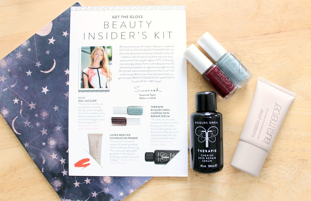 Latest In Beauty Get The Gloss Beauty Insider Kit