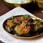 Brinjal fry/Eggplant roast recipe