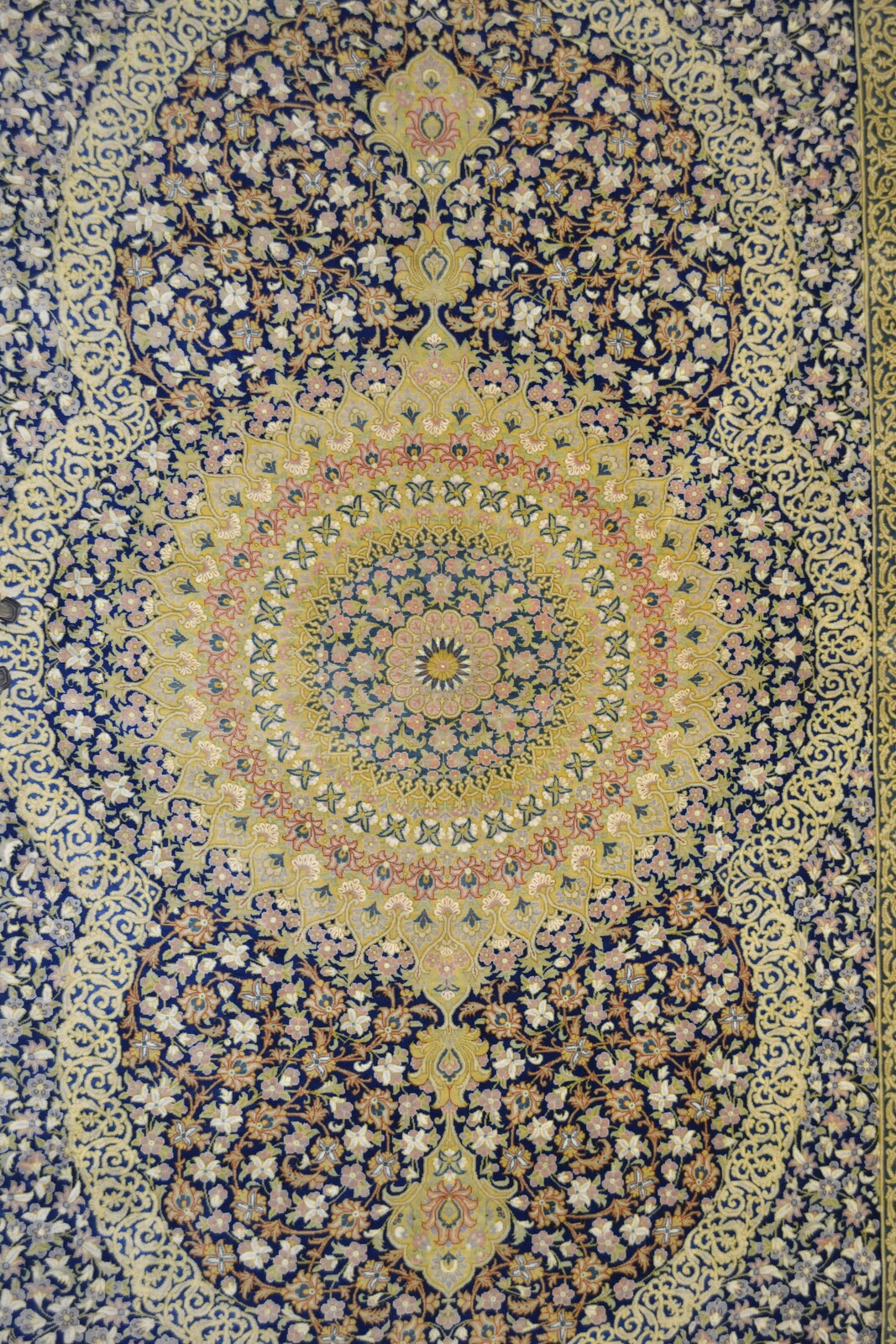 Master Piece 1000 KPSI Qum Pure Silk Persian Area Rug 5x7 by Samadi (5)