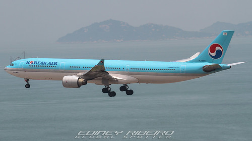AIRBUS A330-300 (HL7550) KOREAN AIR | HONG KONG | HKG-VHHH