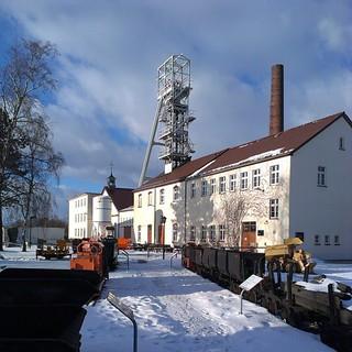 Cachen auf der Reichen Zeche in #Freiberg #Bergbau #geocaching