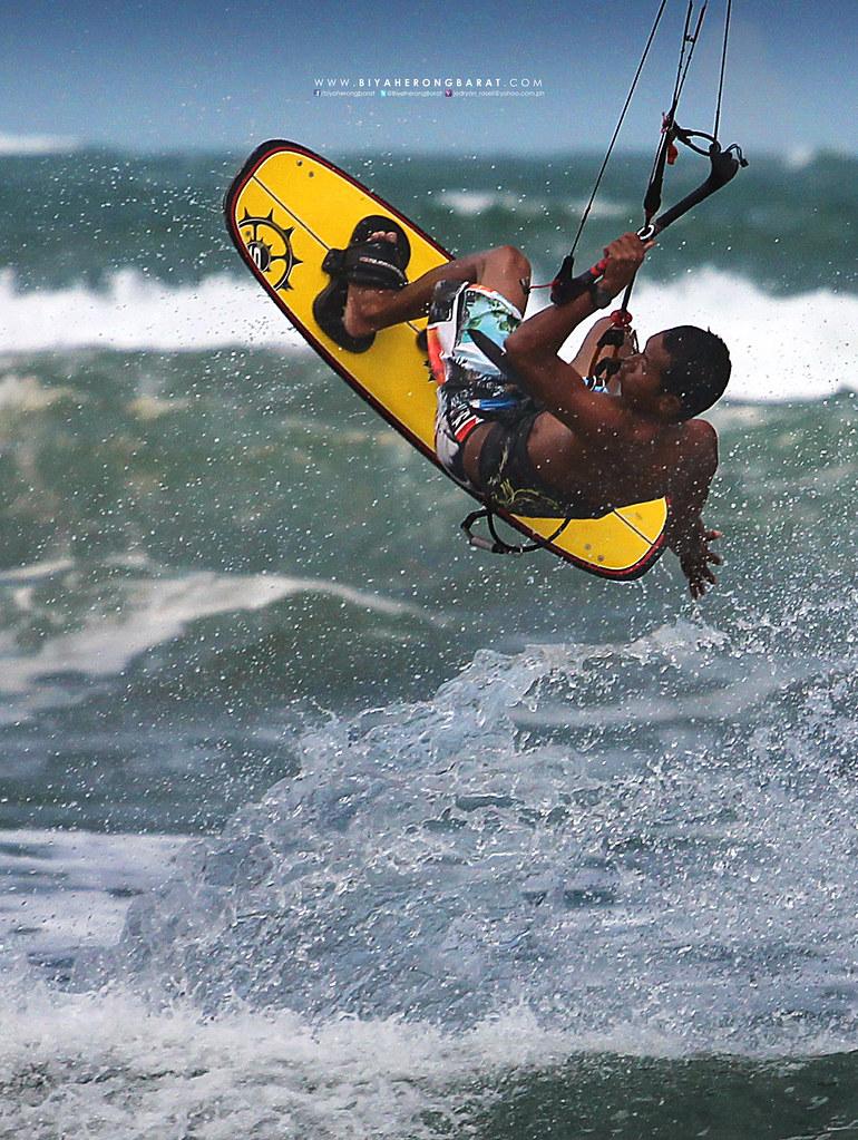 Aris Cilones Kitesurfing Kiteboarding Bagasbas Beach Daet Camarines norte