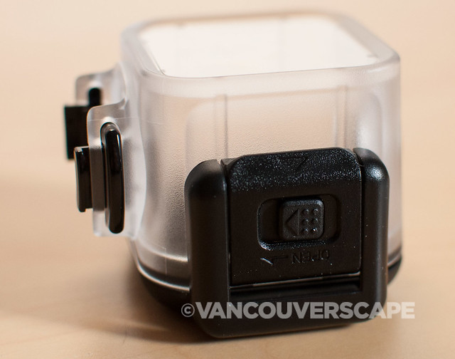 Polaroid Cube underwater housing