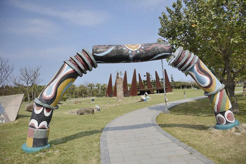 十三行博物館的公共藝術