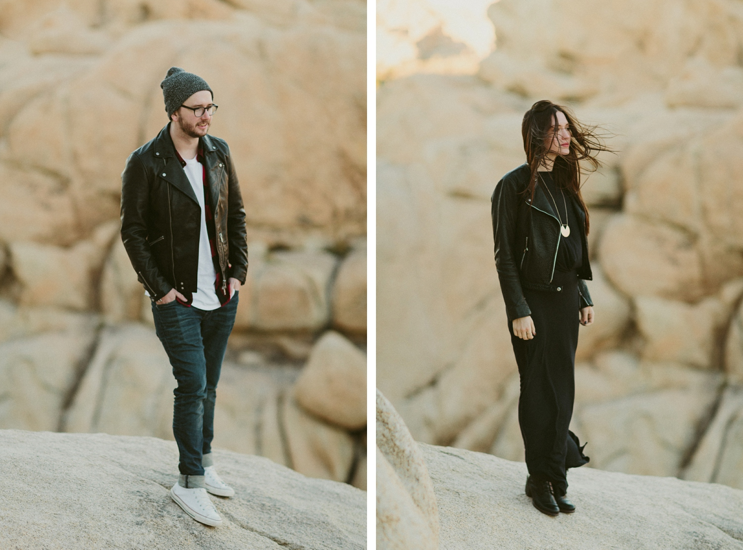 Joshua Tree Adventure Engagement by Katch Silva