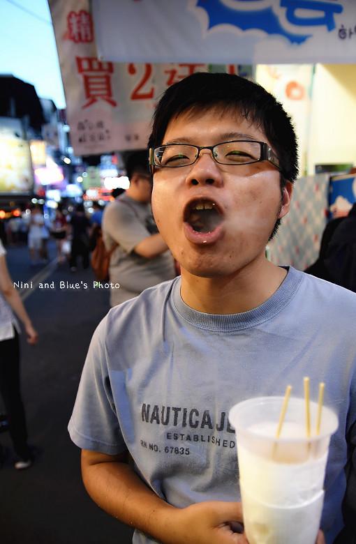 逢甲夜市美食小吃冰飲料韓國白雲餅乾20