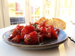 Food Tomatoes Tomatosalad Abendbrot Summer Food