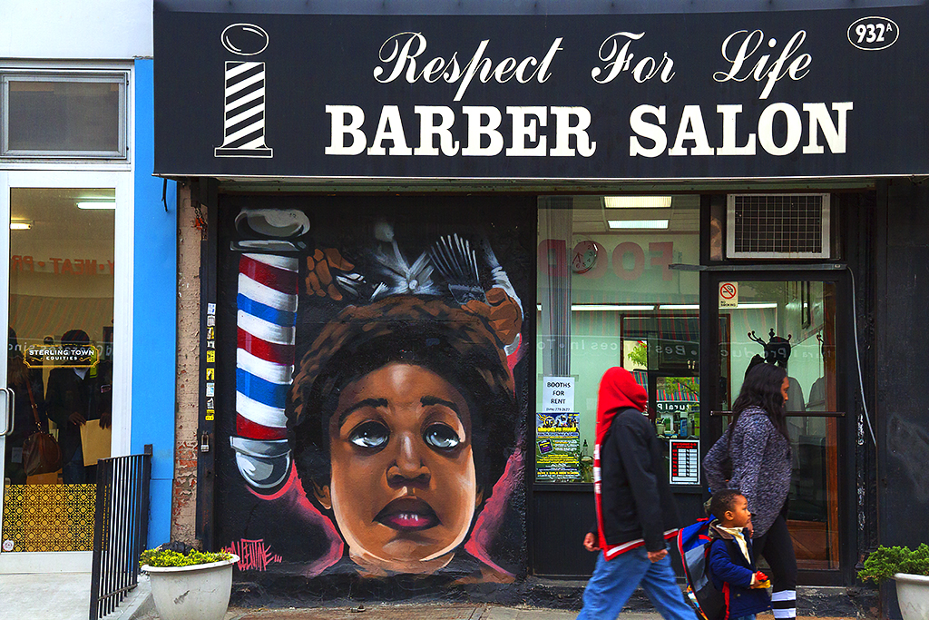 Respect for Life BARBER SALON--Fort Greene