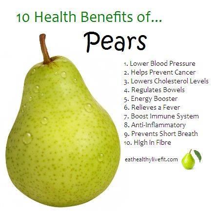 21. Pears