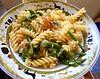 Pasta w/ asparagus and prosciutto