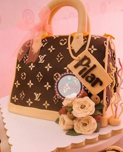 Louis Vuitton Cake by Ann of Ann Bakes