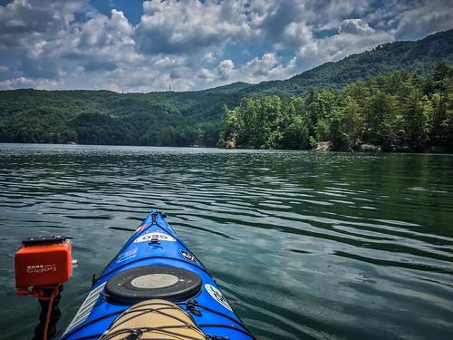 sunset us unitedstates southcarolina kayaking paddling lakejocassee