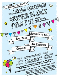 Super Block Party Flyer