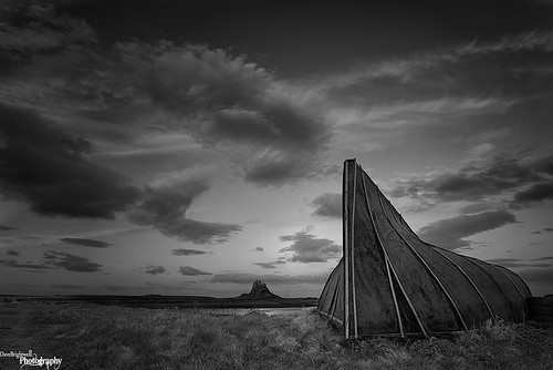 Upturned Boat by Dave Brightwell