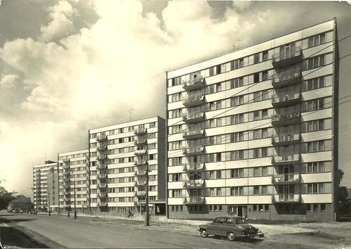 ceske budojovice - lidická-strasse, der neue wohn- und siedlungsbau by hansaviertel