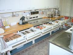 Meine Küche und Privatbackstube..... (andere Ansicht)