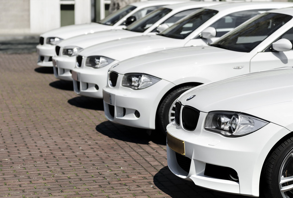 Bmw Day in Brussel - White group