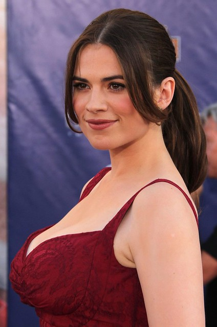 Hayley Atwell In Red Hot Wallpapers 9