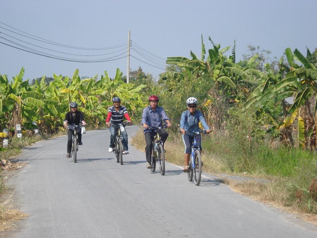 Bicycle tours in Bangkok
