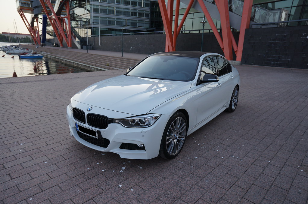 F I MSport AW With M Performance And M Vinyl Roof - Bmw 320i 2013 price
