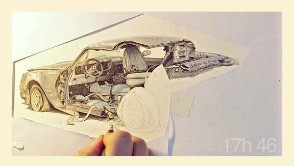 dibujos carros