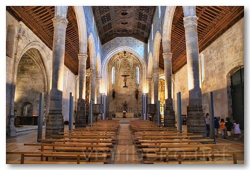 Interior da Igreja Matriz de Caminha by VRfoto
