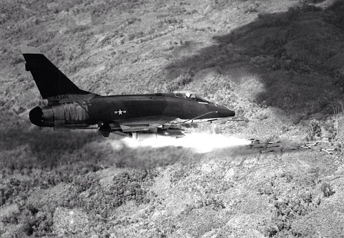 Air Force F-100D Super Sabre #VietnamWar
