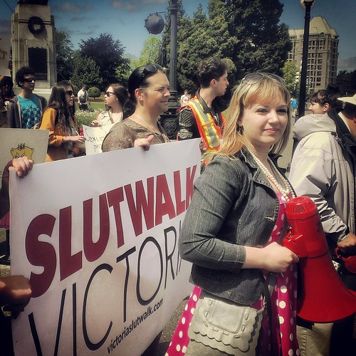 Leader of the Slutwalk by KeithSonic