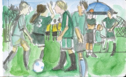 soccer match by Bricoleur's Daughter