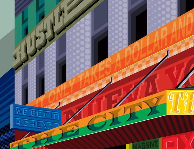 Cityscape Series : NYC 24/7 Bodega.