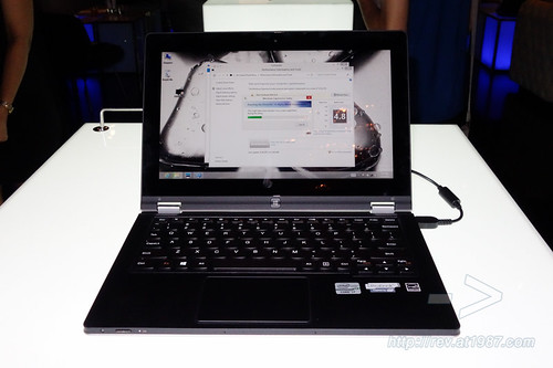 Lenovo Yoga 11S Hand-on