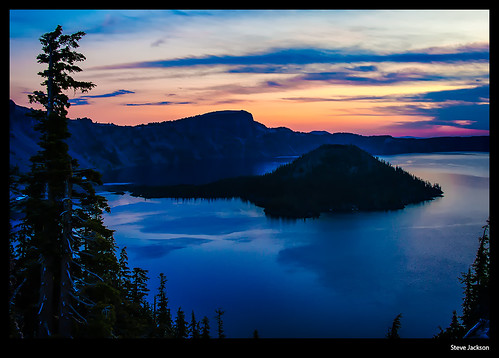 Early Morning Light, Crater Lake