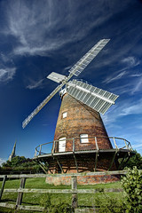 Thaxted Windmill & Church , Essex