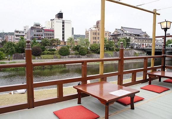 京都美食納涼床09