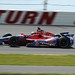 Marco Andretti navigates through Turn 3 at Pocono Raceway