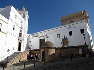 Iglesia de Santa Cruz, antigua catedral de Cádiz.