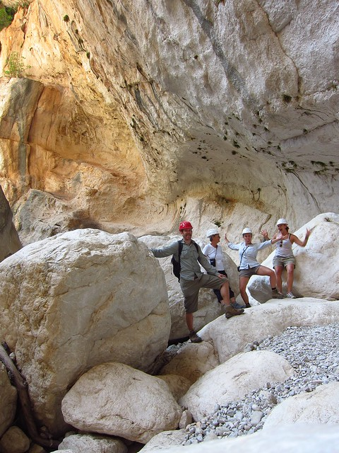 Playing Around in the Gola su Gorroppu (one of Europe's deepest canyons)