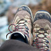 Small photo of Trusty old walking boots