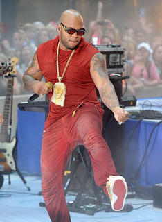 Video & Pics Flo Rida performing on the today show