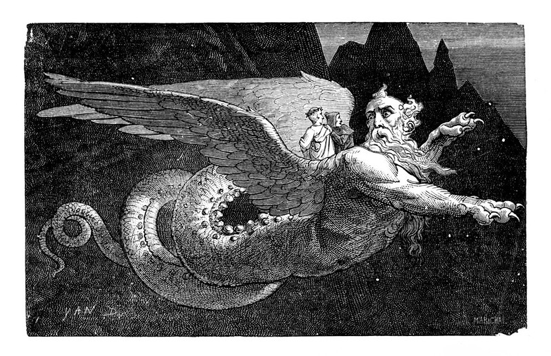 Jean-Edouard Dargent - Illustrations from Dante's Divine Comedy 1870 (7)
