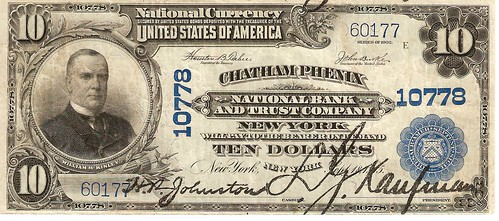 Chatham Phenix  national banknote