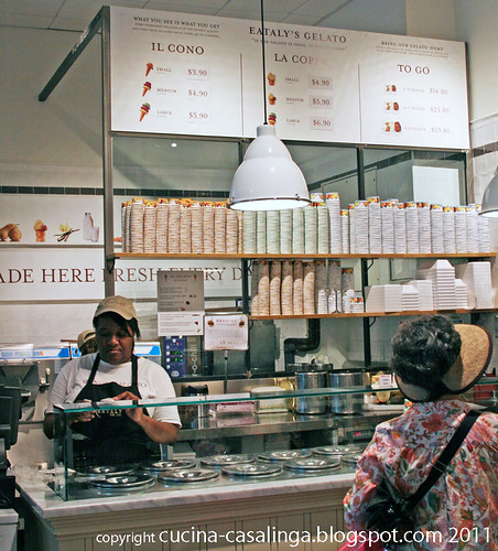 Eataly Eisstand