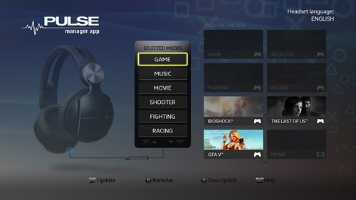 Grand Theft Auto V PULSE headset and PULSE Manager app out today