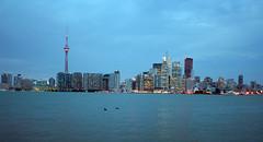 Toronto Island - 23 (начинает темнеть)