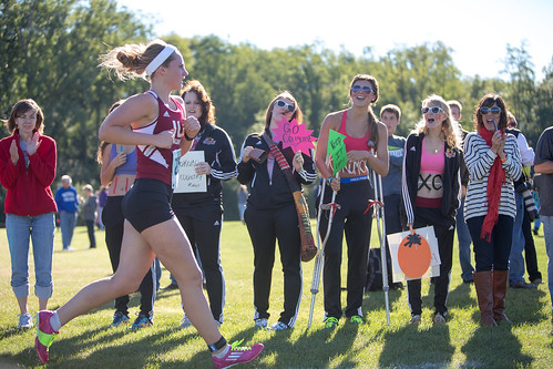 IU Kokomo Cross Country at Grace Lancer Invitational 2013