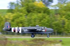 RCAF B-25 landing