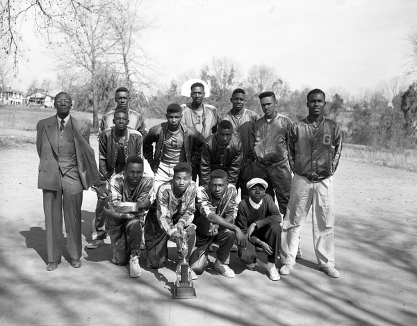 Griffin High School basketball team in Tallahassee, Florida