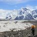 on the south inylchek glacier by beudii
